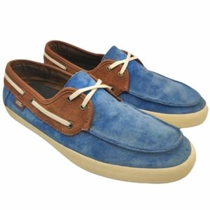 VANS Chauffeur 2.0 Boat Suede Two Tone Shoes 7.5